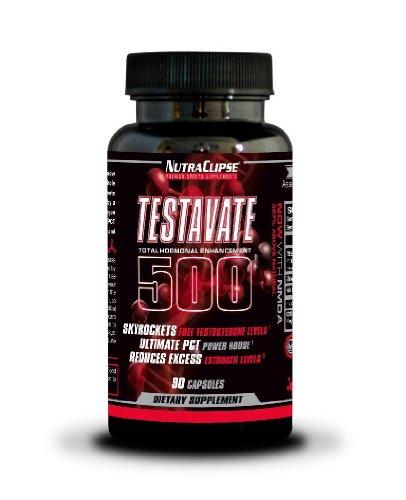Testavate 500 contra el estrógeno testosterona Booster PCT-90 cápsulas