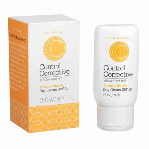 Control correctivo Aroma día mate Crema SPF 30-2.5 oz