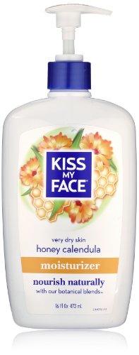 Beso mi crema hidratante de cara, miel/Calendula, 16 onzas de líquido