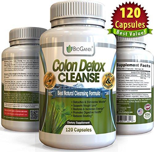 Colon Detox Cleanse 120 Caps