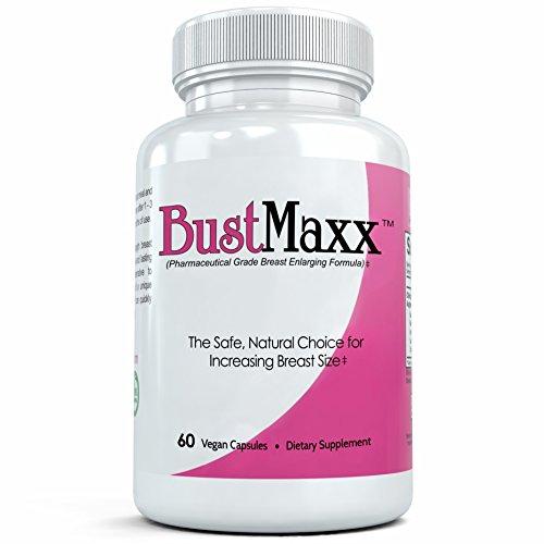 BUSTMAXX - la ampliación del pecho clasificado superior de todo el mundo, píldoras del realce del busto. Natural aumento femenino que trabaja - 60 cápsulas
