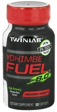 Yohimbe combustible 8.0 Twinlab, Inc 50 Caps