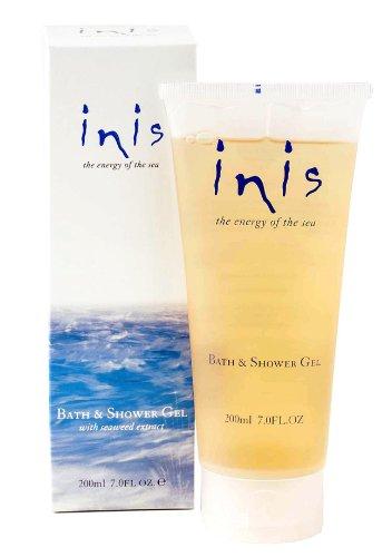 Fragancias de Irlanda Inis la energía de las algas de mar enriquecieron baño y Gel de ducha, 7 onzas de líquido