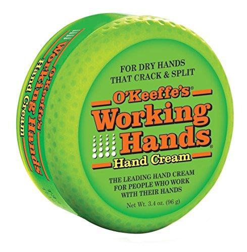 Trabajo de O'Keeffe las manos crema, 3.4 oz.