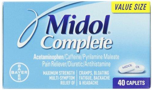 Midol Complete cápsulas, 40-cuenta caja