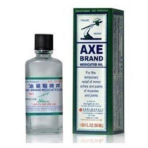 Marca Axe medicado aceite, paquete de 3, versión de los E.e.u.u. por solsticio