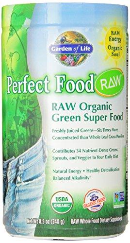 Jardín de la vida perfecta alimentos crudos orgánicos, polvo de 240g