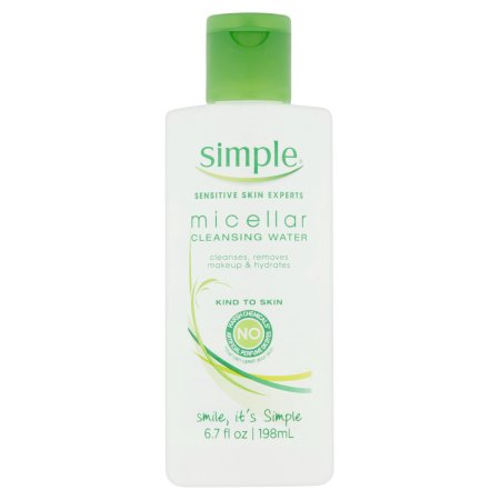 Simple Piel Sensible Expertos micelar Agua limpiadora 67 fl oz