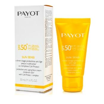 Les Solaires Sun Sensi protectora anti-envejecimiento facial Crema SPF 50- 16 oz