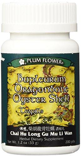 Bupleurum Dragonbone Oystershell Teapills-3371MW (Chai Hu larga Gu Mu Li Wan)
