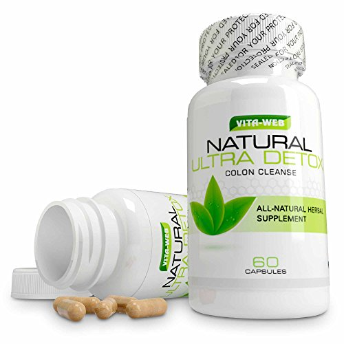 Natural Ultra Detox Desintoxicar el Intestino Colon 60Caps