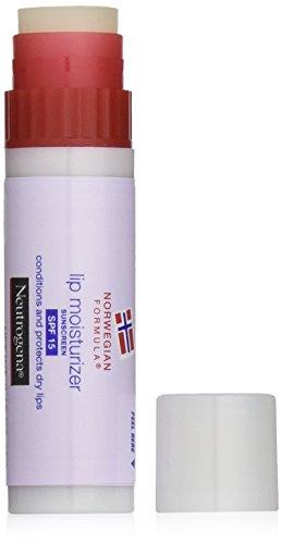 Crema hidratante labial fórmula Noruega de Neutrogena, SPF 15, 0,15 onzas (paquete de 2)