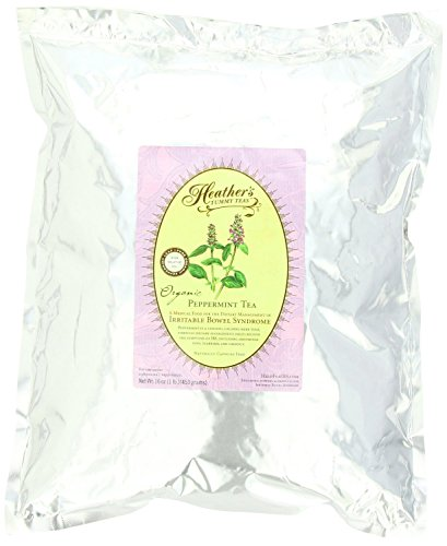 Té de hierbabuena bolsa para Síndrome de intestino Irritable ~ Panza té de Heather flojo té de hierbabuena orgánicos (bolsa de 16 oz a granel)