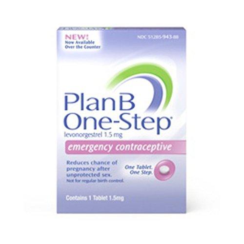 Pastilla anticonceptiva emergencia Plan B (contiene 1 tableta de 1.5 mg)