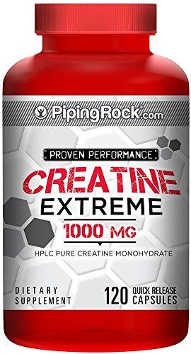 Revestido de monohidrato de creatina 1000 mg 120 cápsulas