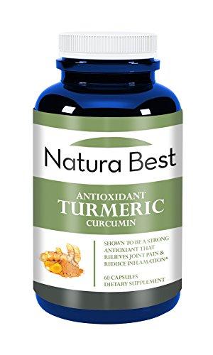 NaturaBest antioxidante - cúrcuma 450 MG de Curcumin Curcuma Longa 60 cápsulas