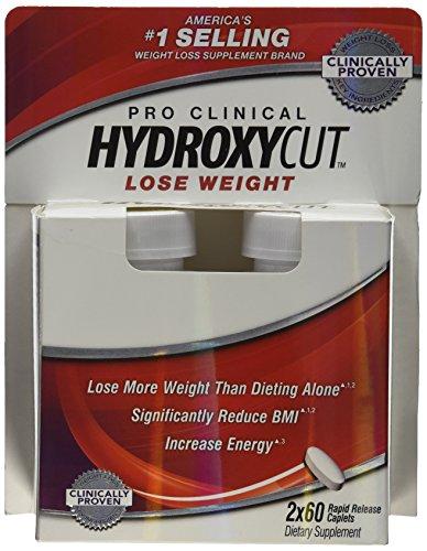 Suplemento para bajar de peso avanzada de Hydroxycut, 60 cápsulas, aumentar y bajar de peso más (Pack 2)