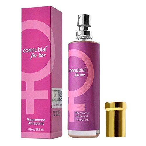 Aerosol de Colonia de Perfume de feromonas para mujeres atraer hombres 29,5 ml