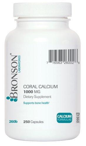 Calcio de coral (250 cápsulas)