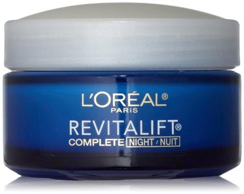 L ' Oreal París Advanced RevitaLift noche crema, 1,7 onzas