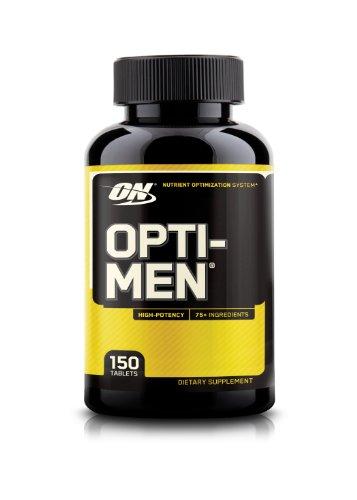 Suplemento de la nutrición óptima Opti-Men, cuenta 150
