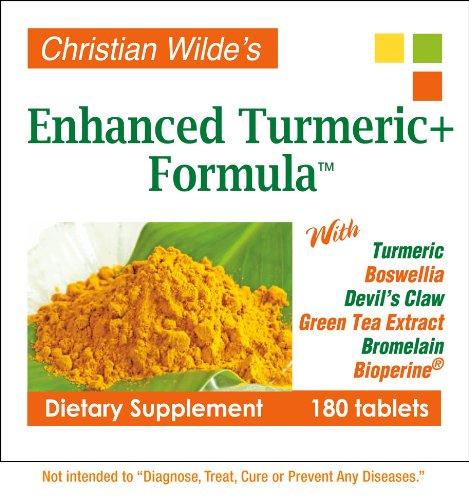 Christian Wilde mejorado cúrcuma + fórmula