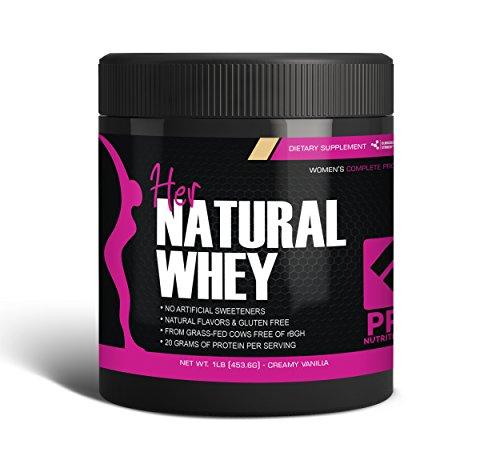 Polvo de proteína para las mujeres - su Natural suero proteína en polvo para peso pérdida & a soporte Lean masa muscular - Low Carb - libre de Gluten - rBGH hormona libre - Endulzado naturalmente con Stevia - diseñado para una óptima pérdida de grasa