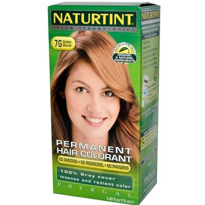 Naturtint - permanente del pelo-colorante de oro rubia, 5.28 oz fl