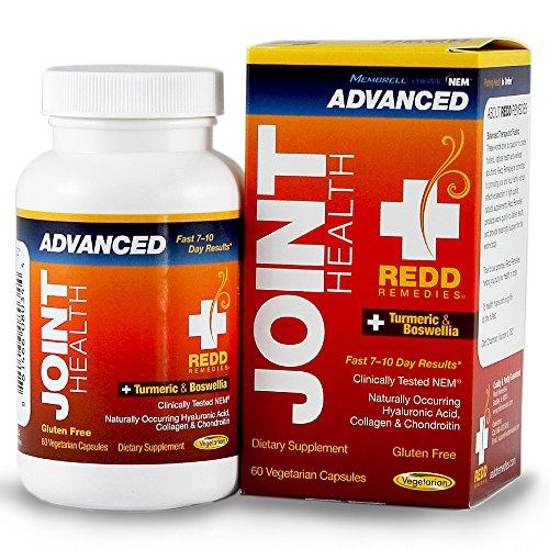 REDD remedios salud común avanzado - producto de salud de las articulaciones Membrell Natural - admite respuesta inflamatoria saludable - salud conjunta única fórmula - 60 cápsulas vegetarianas