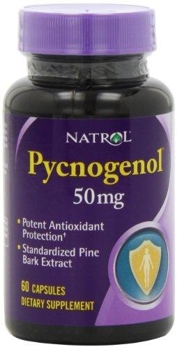 Natrol Pycnogenol 50mg cápsulas, 60-Conde