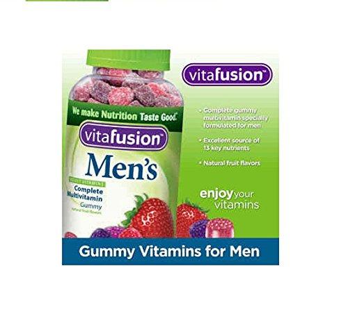 Vitafusion Mens completo multivitamínico 220 gomitas