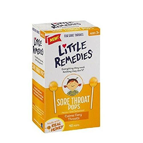 Poco remedios para dolor de garganta aparece, hecho de miel Lollipop - 10 aparece (paquete de 2)