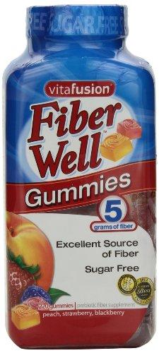 vitafusion Gomitas de fibra, 220 cuenta