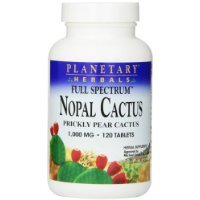 Completo de planetarias Herbals Specturm Nopal Cactus 1000 mg 120 tabletas