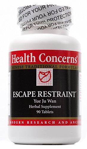 Escapar de problemas de salud - moderación - 90 tabletas