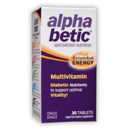 alpha betic avanzada de multivitaminas cada