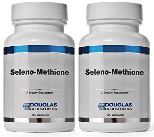 Lab de Douglas Seleno-metionina 100 cápsulas - 2 Pack