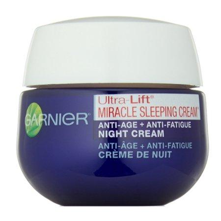 Garnier Skin Ultra-Lift milagro dormir Crema Anti-Edad Plus Anti-Fatiga Crema de Noche - 17 onzas 3 Pack