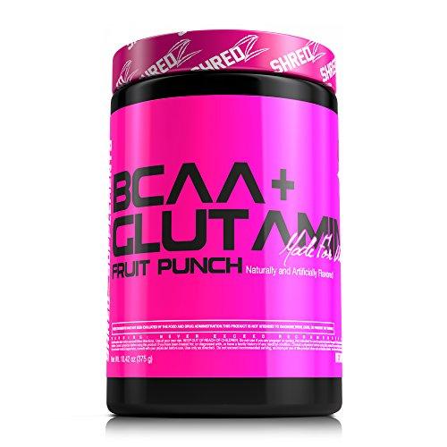 SHREDZ hecho para la línea de las mujeres (BCAA + glutamina) 10,42 oz. -Fruit Punch sabor