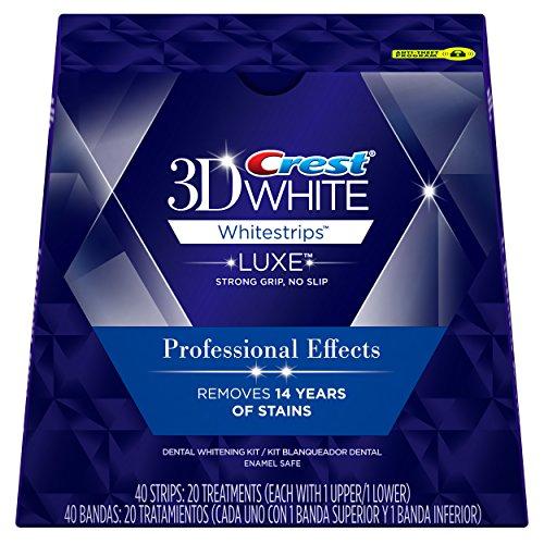 Cresta 3D blanco Luxe blanqueadoras profesional efectos - los dientes que blanquean el Kit 20 tratamientos