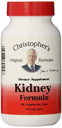 Fórmulas renal fórmula cápsulas Original Dr. Christopher, 475 mg, cuenta 100