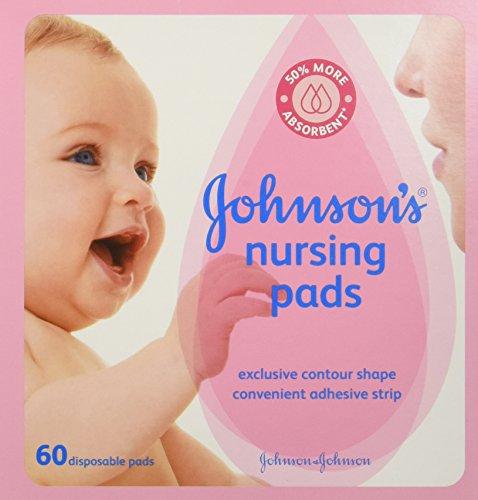 Cojines de lactancia de Johnson, cajas de 60-Count (paquete de 3)