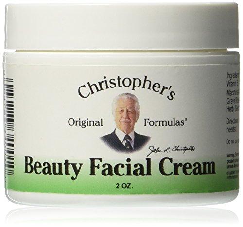 Fórmulas belleza Crema Facial de Christopher, 2 onzas