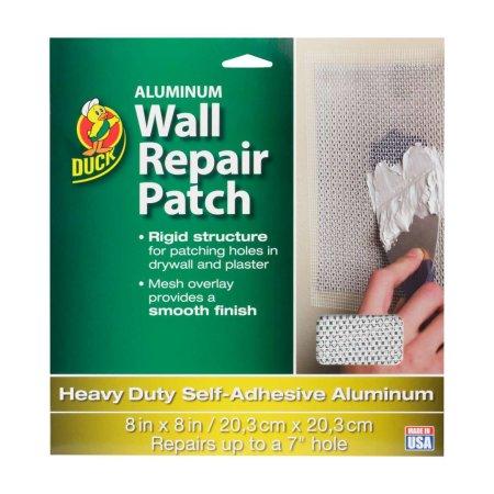 """Duck Marca de aluminio Patch pared 8"""" x 8"""""""
