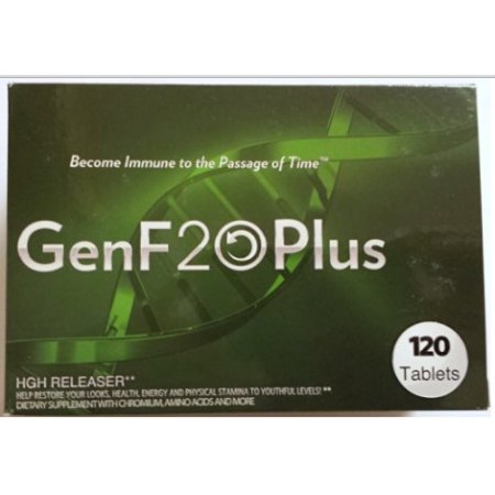 1 Month Supply GENF20 PLUS (120 tablets) naturally restore hormone levels for improved energy youthful look..