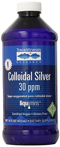 Seguimiento de CLS02 de investigación de minerales - suplementos de plata coloidal 30 PPM, 16 onzas