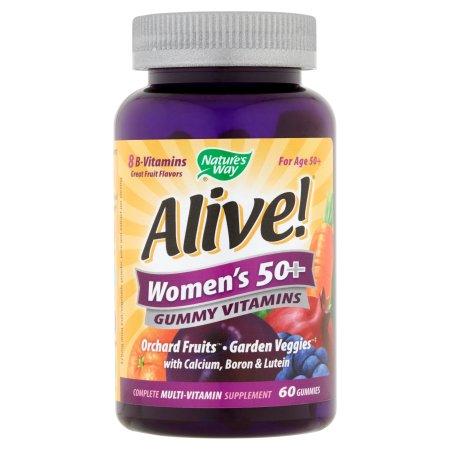 ¡Viva- de las mujeres mayores de 50 años Gummy vitaminas 60 conteo
