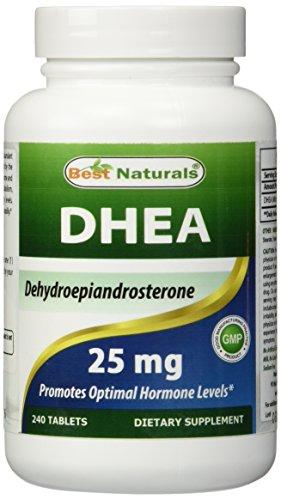 Los suplementos de DHEA por los mejores productos naturales - promueve un nivel hormonal equilibrado, fabricado en un E.e.u.u. base GMP certificada la facilidad y tercero prueba de pureza. Garantizado!!!! (240 comprimidos, 25 mg)