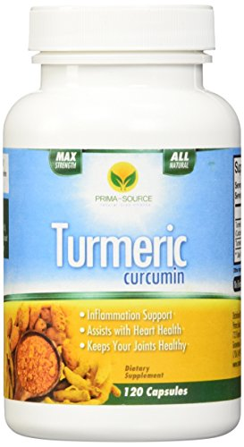 Cúrcuma curcumina - 120 cápsulas 2 meses suministro - antiinflamatorio Natural para aliviar el dolor de la articulación y la artritis - poderoso antioxidante - mejorar la digestión, salud del cerebro, pérdida de peso y bienestar general