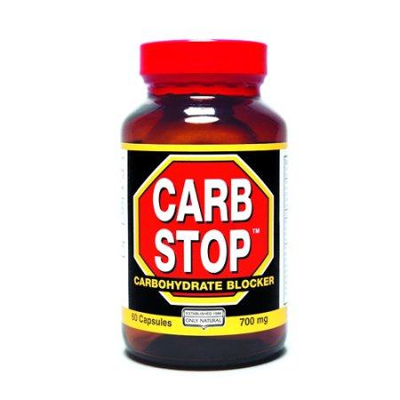 ONLY NATURAL Carb parada de carbohidratos Bloqueador Cápsulas - 60 Ea